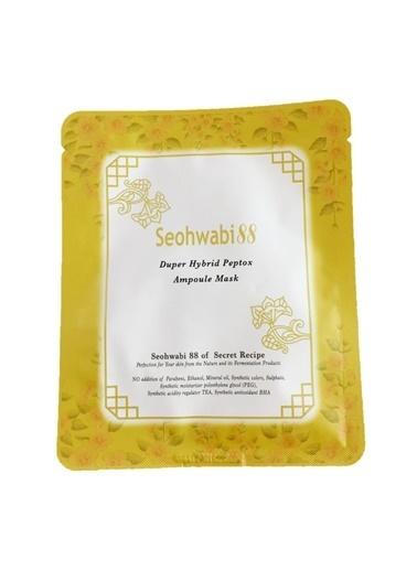 Seohwabi Duper Hybrid Peptox - Kırışıklık Bakım Yüz Maskesi Renksiz